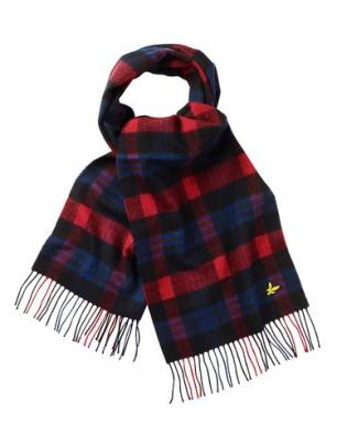 Arnotts Lyle and Scott black and red tartan scarf €40
