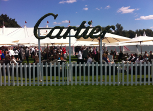 Cartier enclosure at Windsor