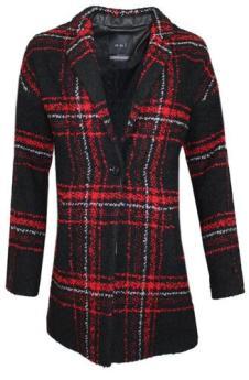 Kilkenny Tartan Boyfriend Coat, €314.95