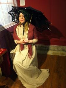 Fiona Sherlock in Regency Dress