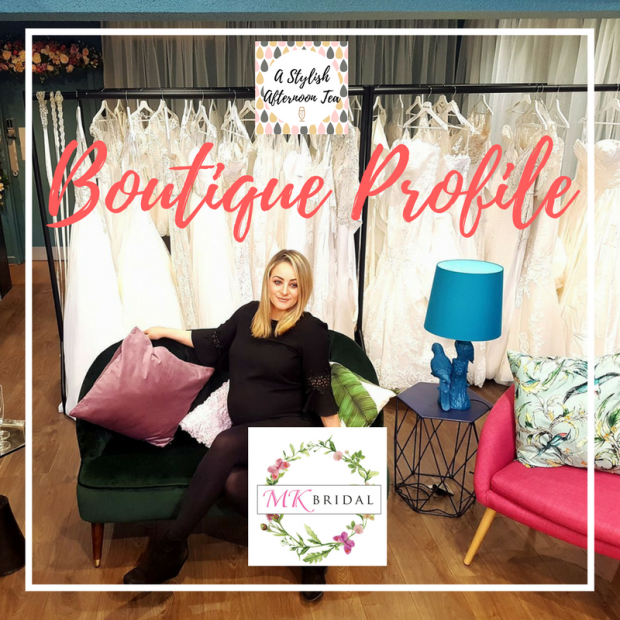 A Stylish Afternoon Tea: Mairead Kennedy MK Bridal Boutique Profile Navan CO Meath