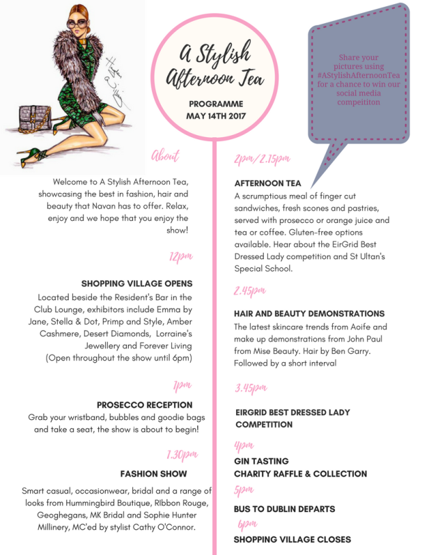 A Stylish Afternoon Tea Navan May 14th - Thank you