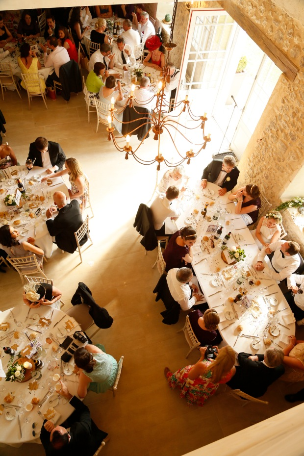 Chateau de Puyrigaud wedding function room