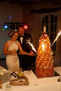 croquembouche by HIstoire de Recevoir wedding in France