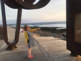 Taking a walk in Tenerife - What to pack for a sun holiday in your third trimester!