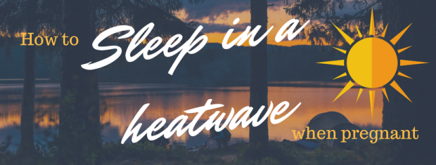 Sleep in a heatwave graphic