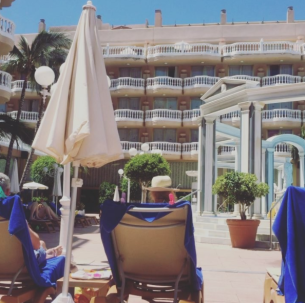 Cleopatra Palace in Tenerife - What to pack for a sun holiday in your third trimester!