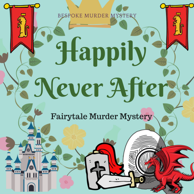 Fairytale Murder Mystery Game // Hen party game // Girls night in game // bachelorette party game // bridal shower game // princess game