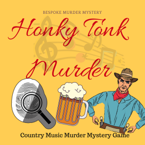 Stetsons and Stilettoes Country Western Murder Mystery Game // 4 - 18 players Instant Download // Murder Mystery Party