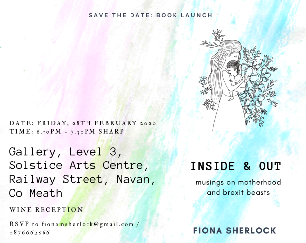 Save the Date INSIDE & OUT LAUNCH